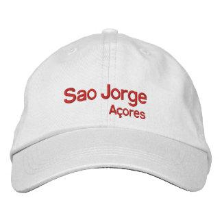 Sao Jorge* Açores Adjustable Hat Embroidered Baseball Caps