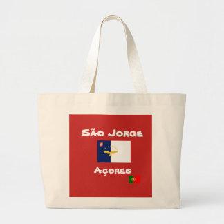 Sao Jorge Azores Custom Tote Bag