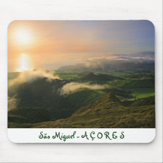 Sao Miguel, Azores Mouse Pad