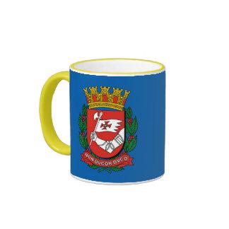 Sao Paulo Brazil Crest Mug