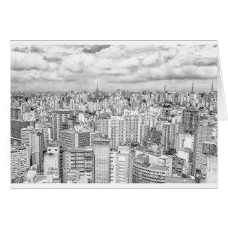 Sao Paulo, Brazil Greeting Card