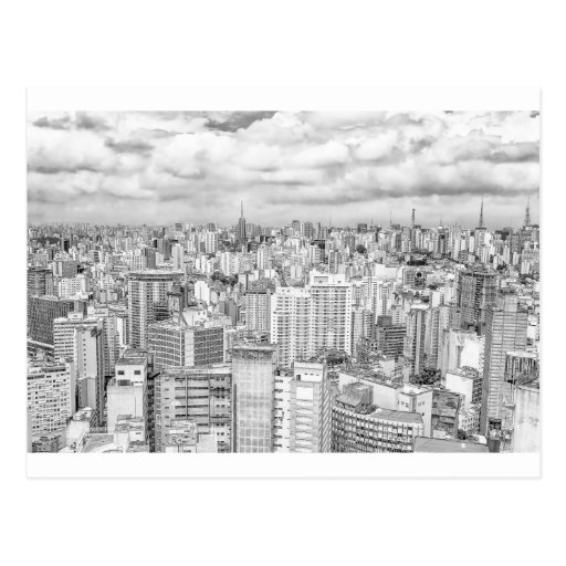 Sao Paulo, Brazil Post Card