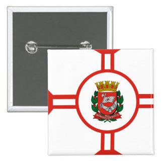 Sao Paulo City, Brazil Pinback Button