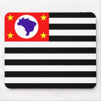 Sao Paulo city flag brazil symbol Mouse Pad