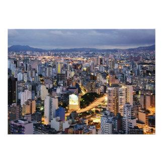 Sao Paulo Cityscape 2 Personalized Invites