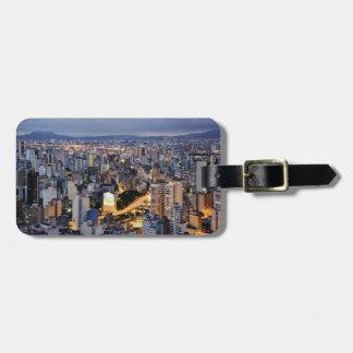 Sao Paulo Cityscape 2 Luggage Tags