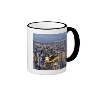 Sao Paulo Cityscape 2 Ringer Mug