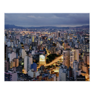 Sao Paulo Cityscape 2 Print