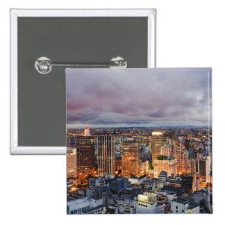 Sao Paulo Cityscape Pin