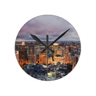 Sao Paulo Cityscape Clock
