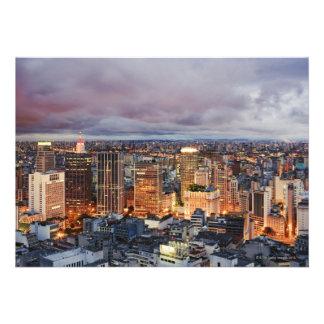 Sao Paulo Cityscape Custom Invite