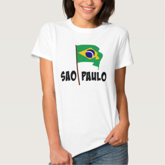 Sao Paulo, Flag of Brazil T Shirt