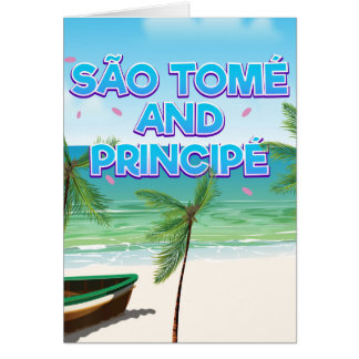 São Tomé and Principé beach Card