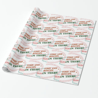 Sao Tome and Principe Been There Done That Wrapping Paper