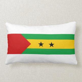 sao tome and principe country flag nation symbol throw cushion