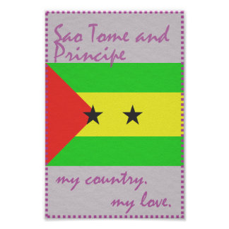 Sao Tome and Principe My Country My Love Poster