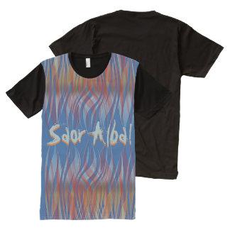 Saor Alba Gaelic Scottish Independence Tartan Fire All-Over Print T-Shirt
