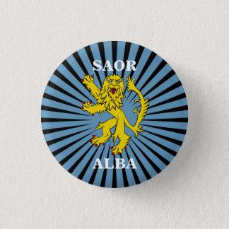 Saor Alba Lion Rampant Scotland Pinback 3 Cm Round Badge