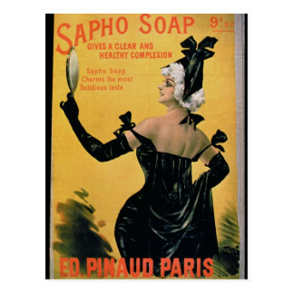 'Sapho Soap - Gives a Clear and Healthy Complexion Postcard
