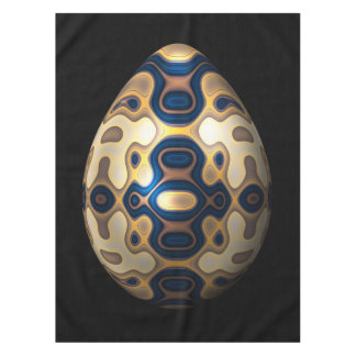 Sapphire and Gold Imperial Easter Egg Tablecloth
