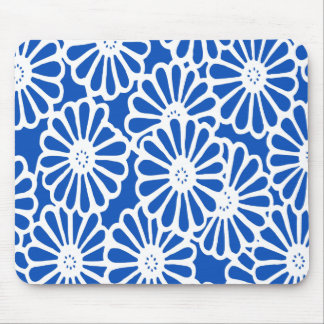 Sapphire Asian Moods Floral Mouse Pad