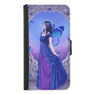 Sapphire Birthstone Fairy Galaxy S5 Wallet Case