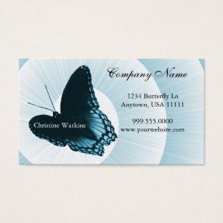 Sapphire Butterfly Business Card