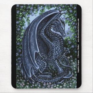 Sapphire Dragon Mousepad