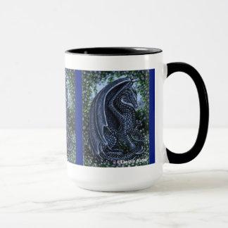 Sapphire Dragon Wraparound Mug