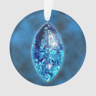 Sapphire Gemstone Ornament