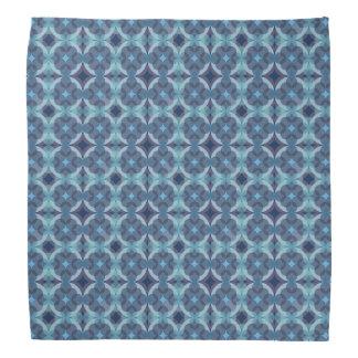 Sapphire Kaleidoscope Pattern Bandana