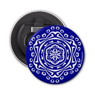 Sapphire Mandala Bottle Opener