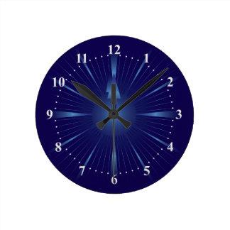 sapphire minute round clock