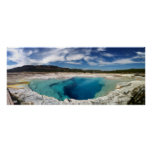 Sapphire Pool Yellowstone National Park Print