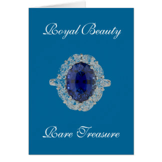 Sapphire Ring Royal Beauty Card