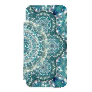 Sapphire Star Mandala Incipio Watson™ iPhone 5 Wallet Case