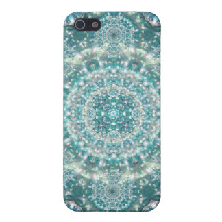Sapphire Star Mandala iPhone 5/5S Covers