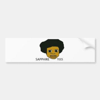 Sapphire Tees.tif Bumper Sticker