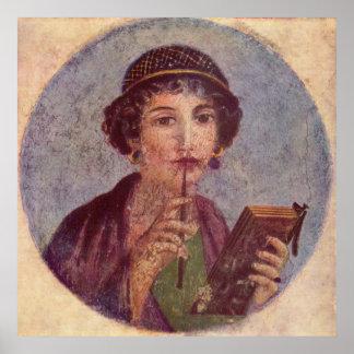 Sappho of Pompeii Poster