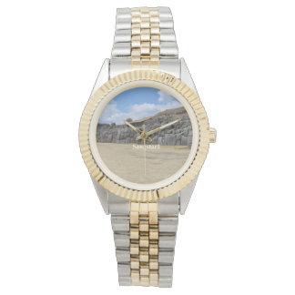 Saqsaywaman Custom Two-Tone Bracelet Watch