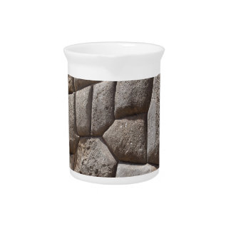 Saqsaywaman Snake Pictogram Beverage Pitcher
