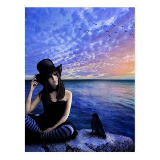 Sara Poet Of My Heart Postcard