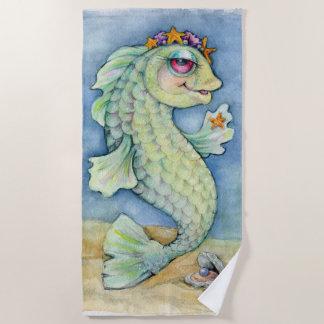 Sarafina Princess Fish Beach Towel