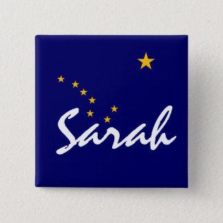 Sarah 15 Cm Square Badge