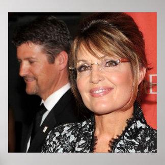 Sarah and Todd Palin Poster