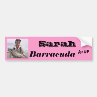 Sarah Barracuda for VP Bumper Sticker
