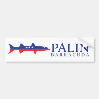 Sarah Barracuda Palin Bumper Sticker