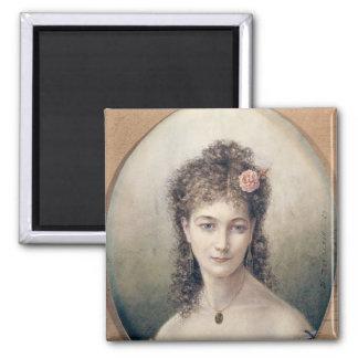 Sarah Bernhardt  1869 Magnet