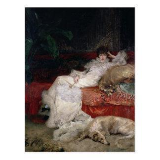 Sarah Bernhardt  1876 Postcard