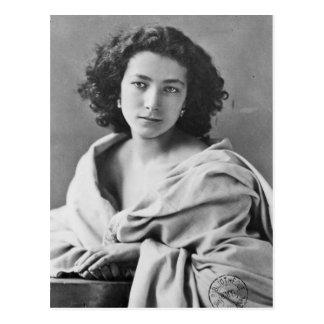 Sarah Bernhardt  in costume, c.1860 Postcard